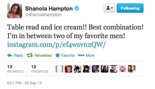Shanola Tweet